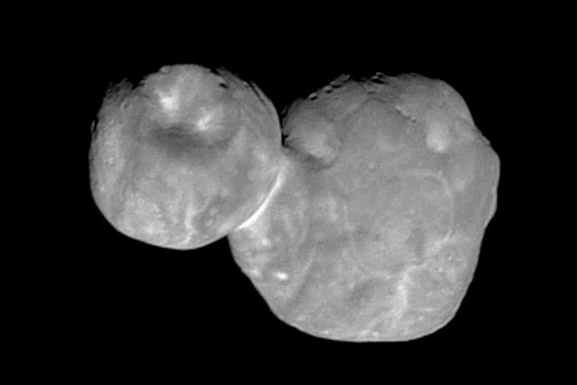 NATSISEOS? NASA nimetas asteroidi Ultima Thule ümber Arrakothiks