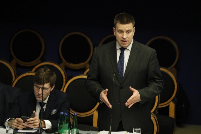 GALERII JA VIDEO | Jüri Ratas riigikogus: Kaja Kallas tõestagu, et ma olen riigireetur!