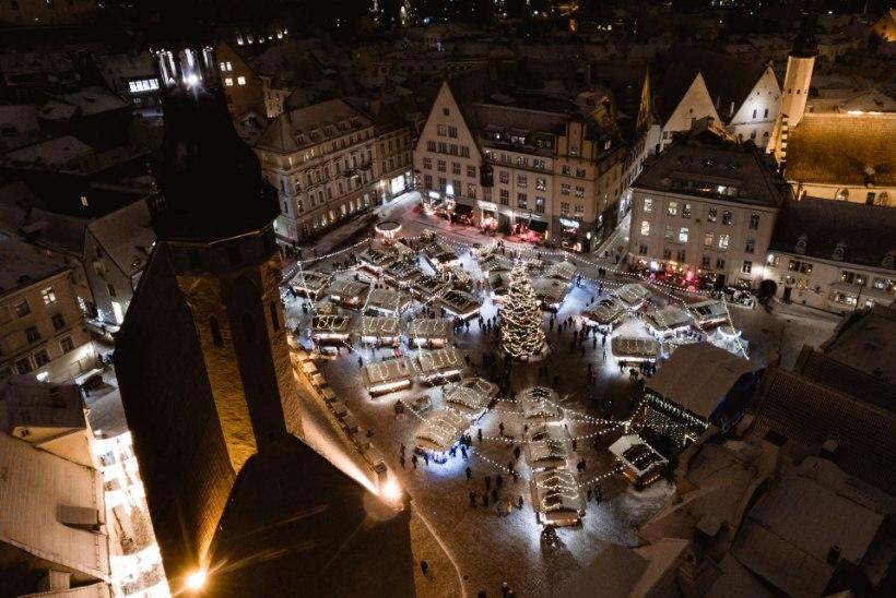 Euroopa parim jõuluturg ootab peagi Tallinnas külastajaid