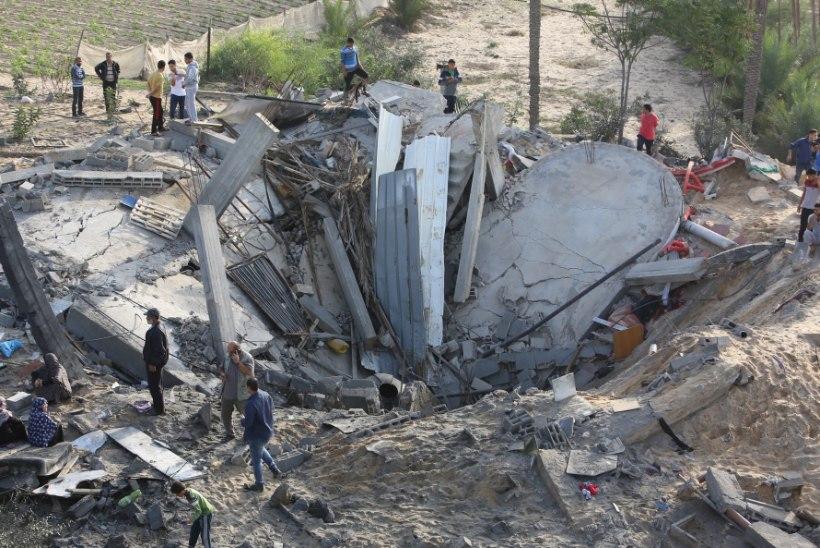 VÄGIVALD JÄTKUB: Iisrael ja Gaza pommitavad üksteist ka täna
