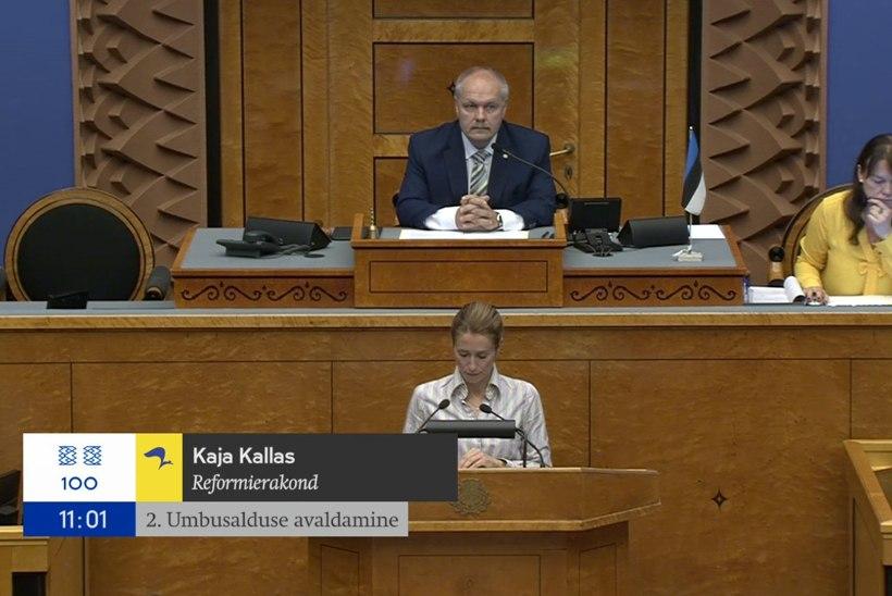 VIDEO | Minister Järviku umbusaldamine kukkus läbi