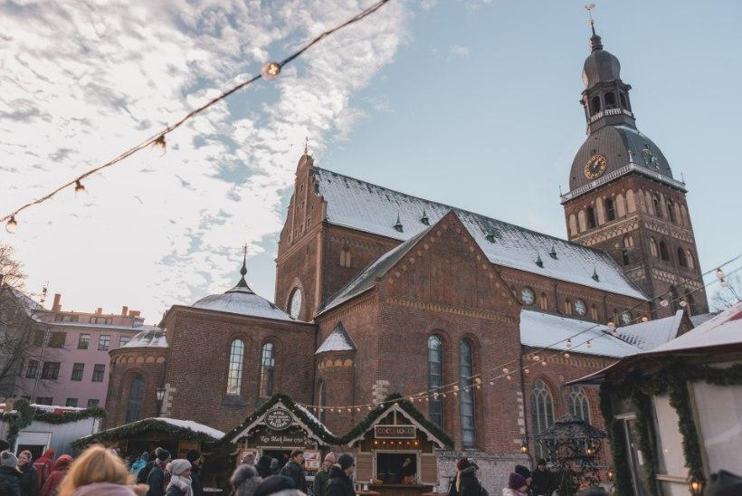 Veeda kultuurne talvepuhkus Läti linnades