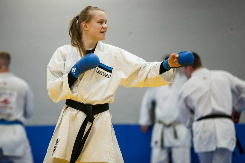 Eesti karateka pöörane aasta: vigastus, kooli lõpetamine hõbedaga ja MM-pronksi võitmine