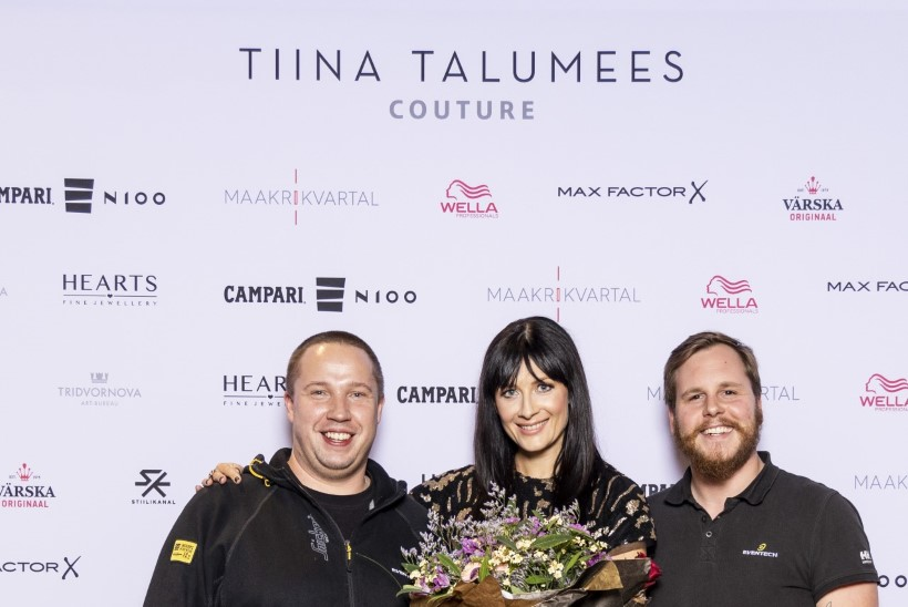 GALERII | Tiina Talumehe uue kollektsiooni esitlusel jõudis lavale 100 000 euro väärtuses teemante