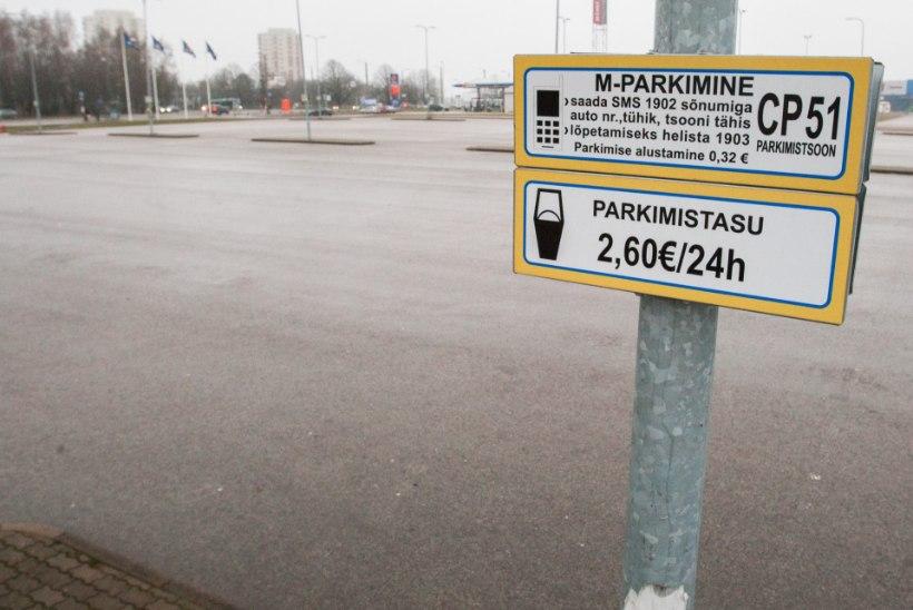 PARKIMISAUTOMAAT JÄI VÕLGU! Hämmingus autojuht süüdistab parklaomanikku raha välja petmises