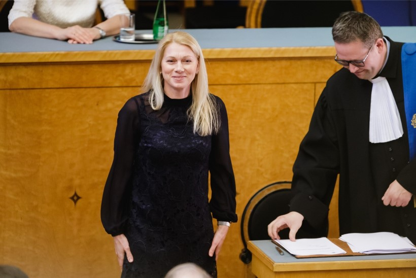 Kristina Šmigun-Vähi aitab riigikogus dopinguteemat vaagida