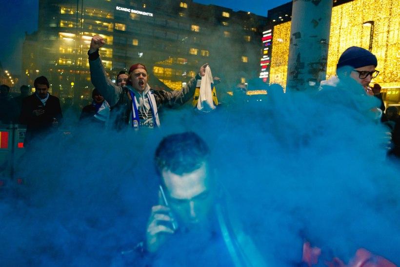 ÕL HELSINGIS   FOTOD   Soome alaliit kardab, et hullunud fännid tõmbavad unelmate õhtule vee peale