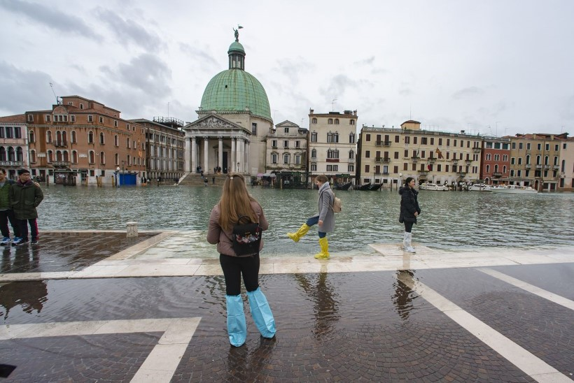Veneetsia hädas. Tulvavesi piinab kogu Põhja-Itaaliat
