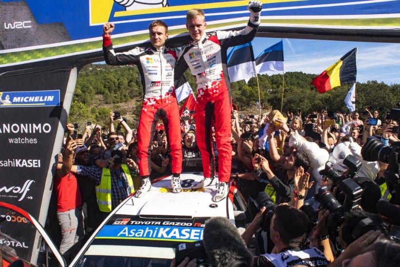 SUUR ÜLEVAADE: WRC-sarja ajalooliselt tihe hooaeg tõi nappe möödalaske ja uhkeid rekordeid