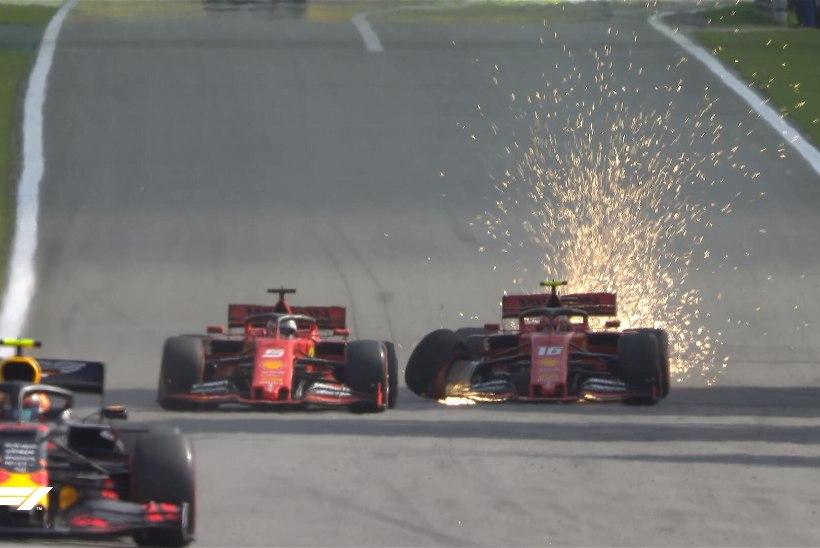 Sündmusterohke Brasiilia GP võitis Verstappen, Vettel ja Leclerc rammisid teineteist välja!
