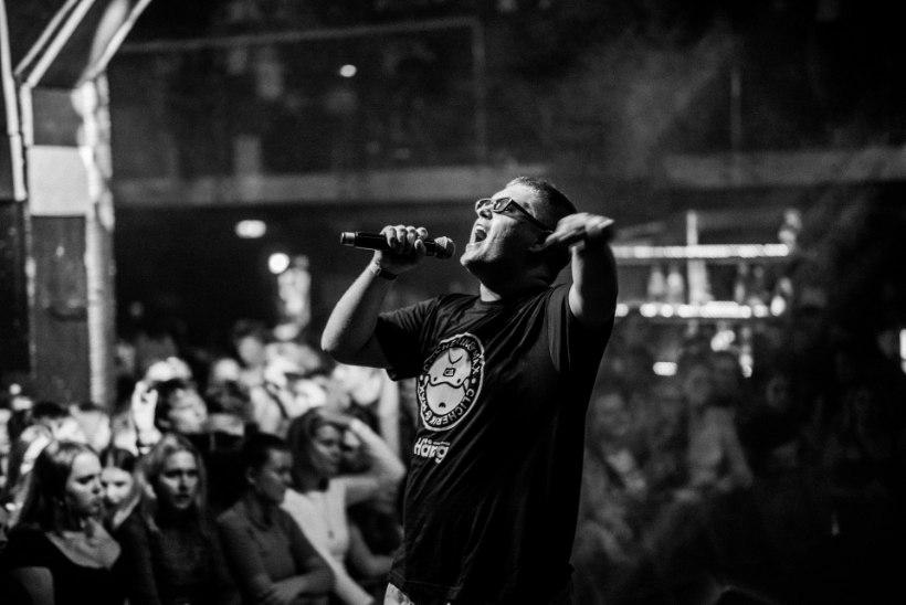 GALERII | Noored räpisuperstaarid Clicherik ja Mäx esitlesid kontserdiga debüütalbumit