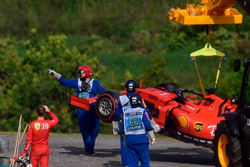 Vettel peab pärast Leclerciga kokkupõrkamist Ferrari ja suure palgatšeki nimel tõsiselt võitlema