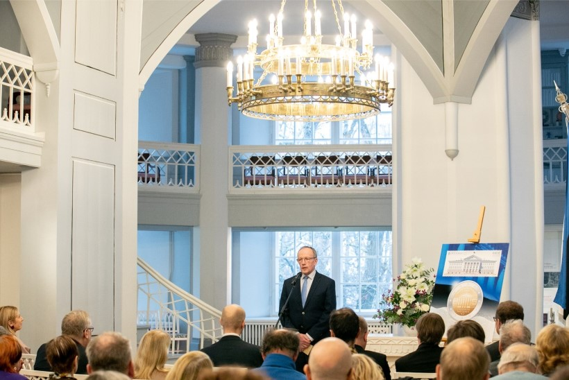 FOTOD | Tartu ülikooli kuus sammast tehti kolmandat korda rahaks