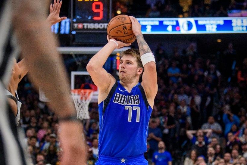 VÄGEV: Luka Doncic püstitas NBAs isikliku rekordi