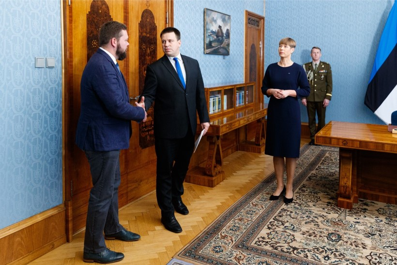 GALERII | Teel presidendi juurde: ametisse nimetatakse uus väliskaubanduse ja IT-minister