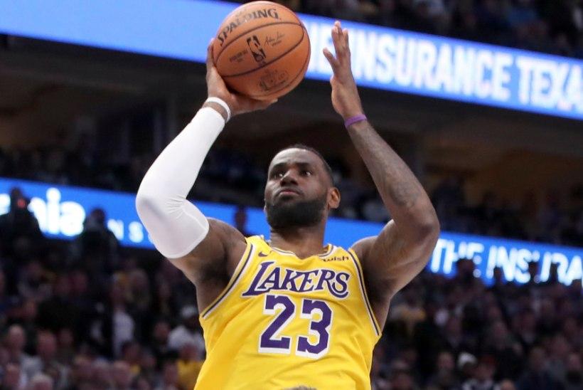 VIDEO | Lakers alistas põnevuslahingus lisaajal Mavericksi, LeBron James ja Luka Doncic tegid kahe peale ajalugu