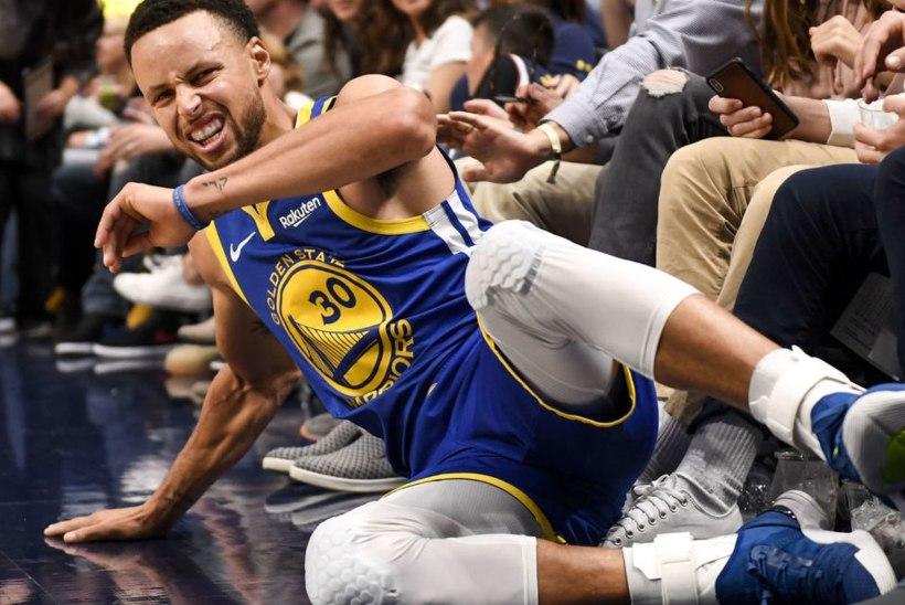 Mullune finalist on hädas! Käeluu murdnud Curryt ootab pikk vigastuspaus