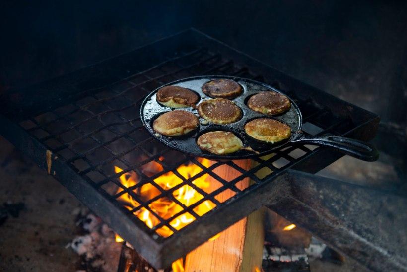 PÄEVA MÕTE | Matkale ja loodusesse lusikapannkooke küpsetama!