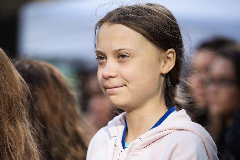 VANDENÕUTEOORIA: kliimaaktivist Greta Thunberg on minevikust maailma päästma saabunud ajarändur