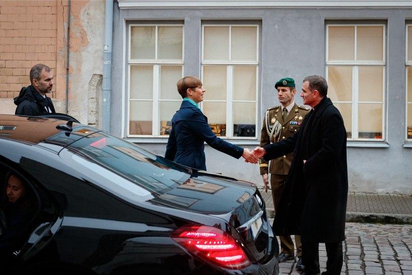 FOTOD | President Kaljulaid kohtus piiskop Jourdaniga: rääkisme hoolivusest ja vendlusest