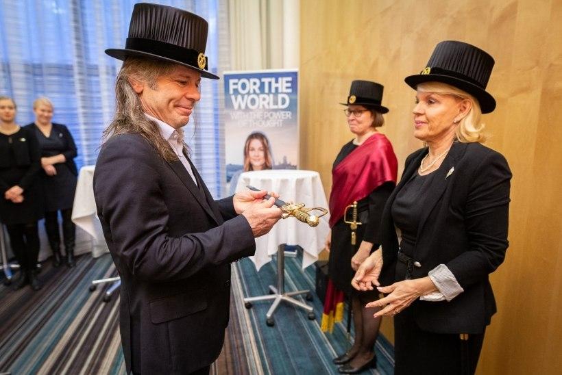 Iron Maideni solist sai Helsingi ülikooli audoktoriks