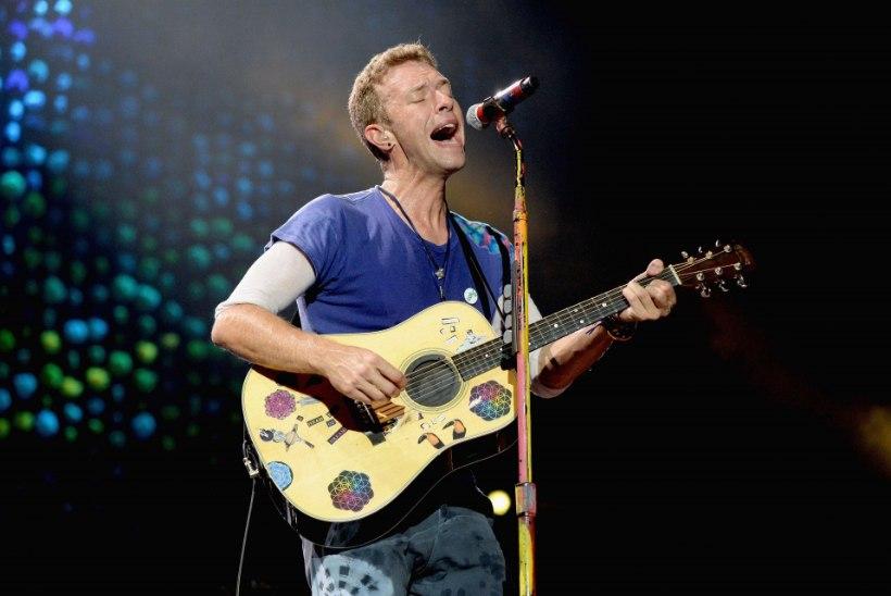 Coldplay keeldub tuuritamast, kuna see reostab keskkonda