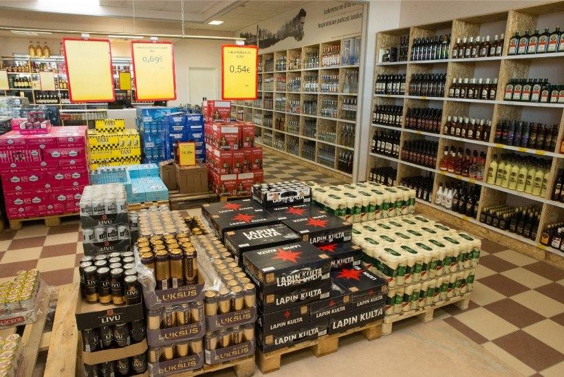 Eestlaste ind Lätis alkoholi järel käia on raugemas