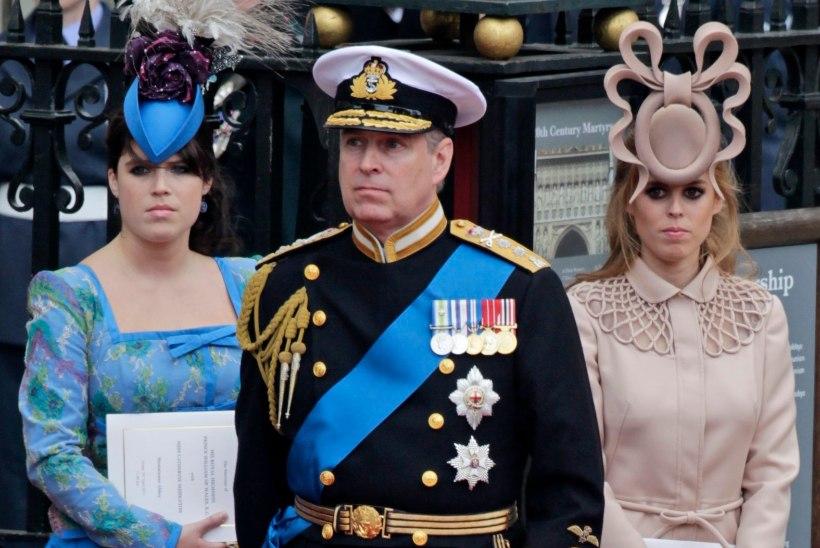 Prints Andrew' skandaal annab valusa hoobi tema tütre pulmadele