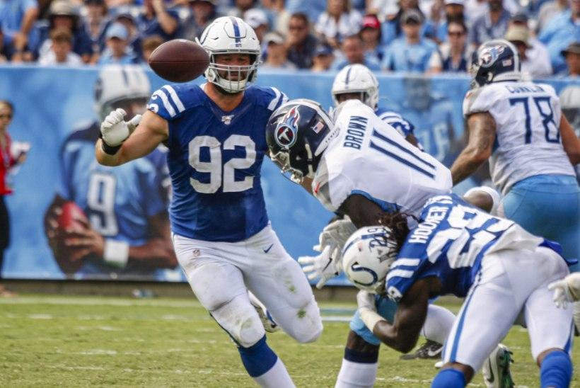Margus Hunt ja Colts said valusa kaotuse, mis pani nende play-off mõtetele esimese põntsu