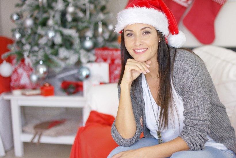 Mine jõulupidudele vastu särava naeratusega!