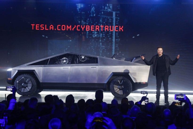 Elon Muski sürreaalset elektrikaubikut tormati ostma