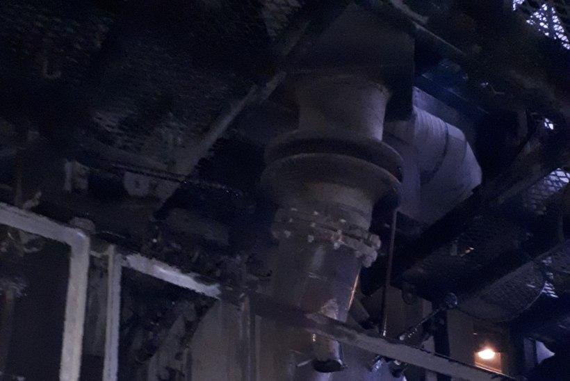FOTOD   Kiviõli Keemiatööstuses oli tulekahju
