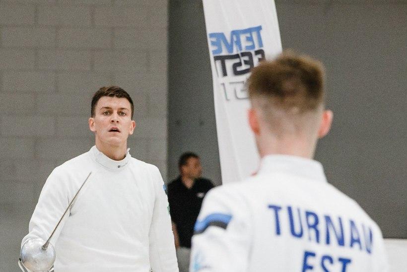 Kaotus Prantsusmaale pani Eesti vehklemismeeskonna olümpialootustele korraliku põntsu