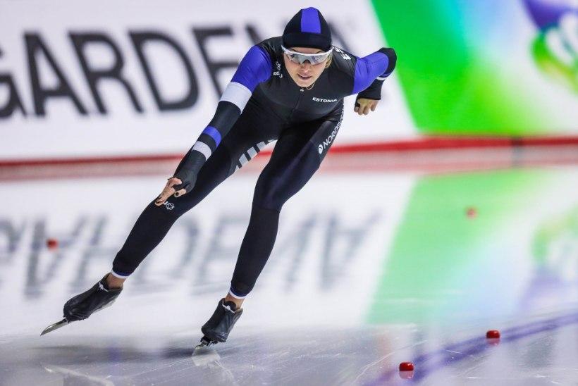 POLE PAHA! Olümpia neljas naine Alusalu tegi MK-etapi finaalis korraliku sõidu
