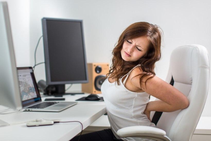 HEA NÕU: nii saad leevendada arvuti taga istumisest tingitud hädasid