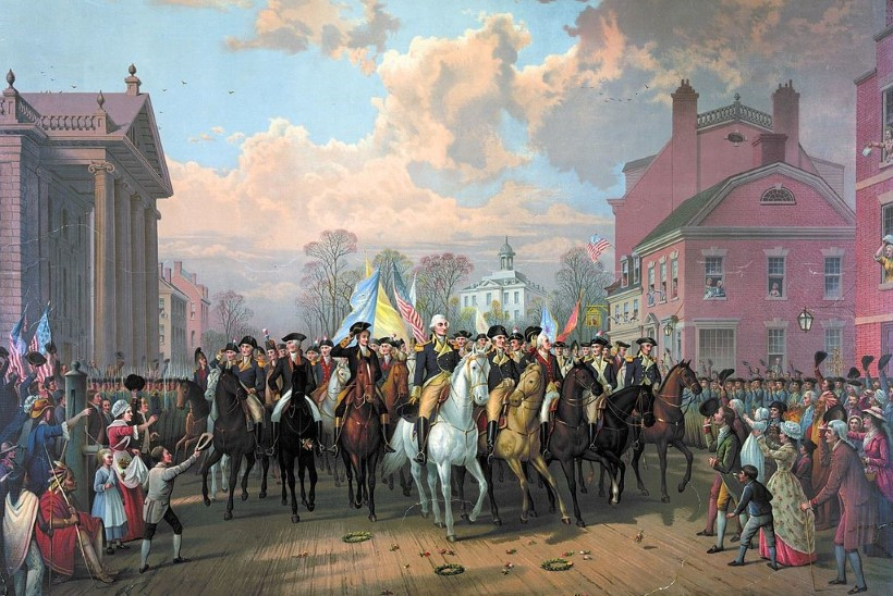 MINEVIKUHETK   25. november: viimased Briti sõdurid lahkusid New Yorgist