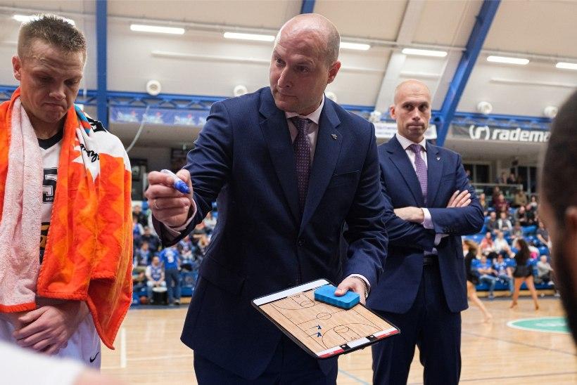 Kalev/Cramo peatreener: mängijad saavad aru, et iga mäng ja punkt on tähtis