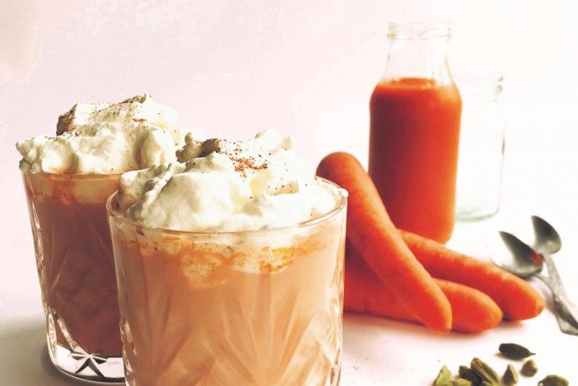 Põnevamalt porgandist: soojendavate vürtsidega porgandi-piimakohvijook