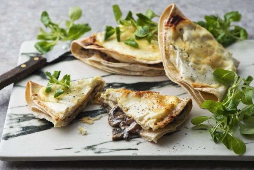 LAHEDA LAUPÄEVA RETSEPT | Kuumad seene- juustu tortillad