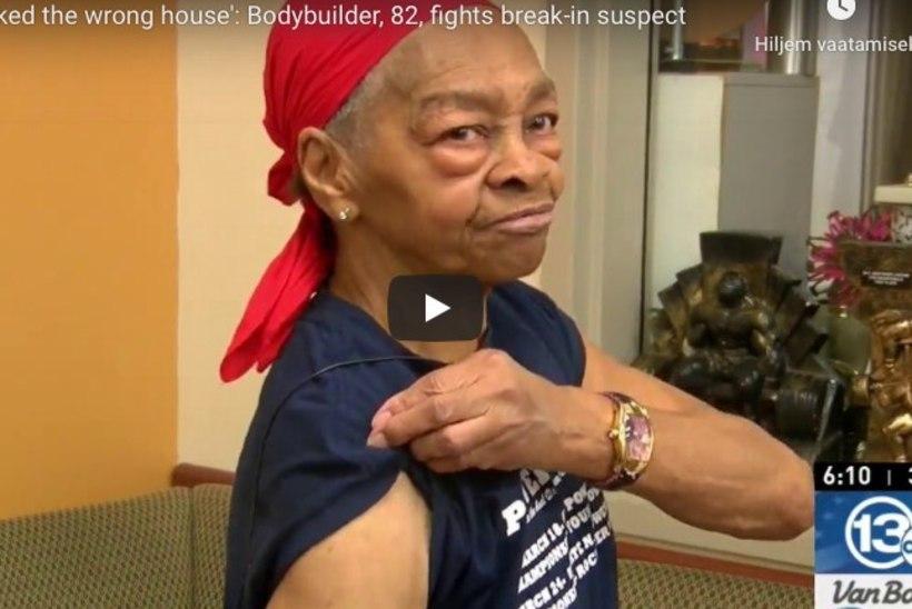 MUSKLIMEMM: 82aastane vanaproua peksis murdvarga vaeseomaks