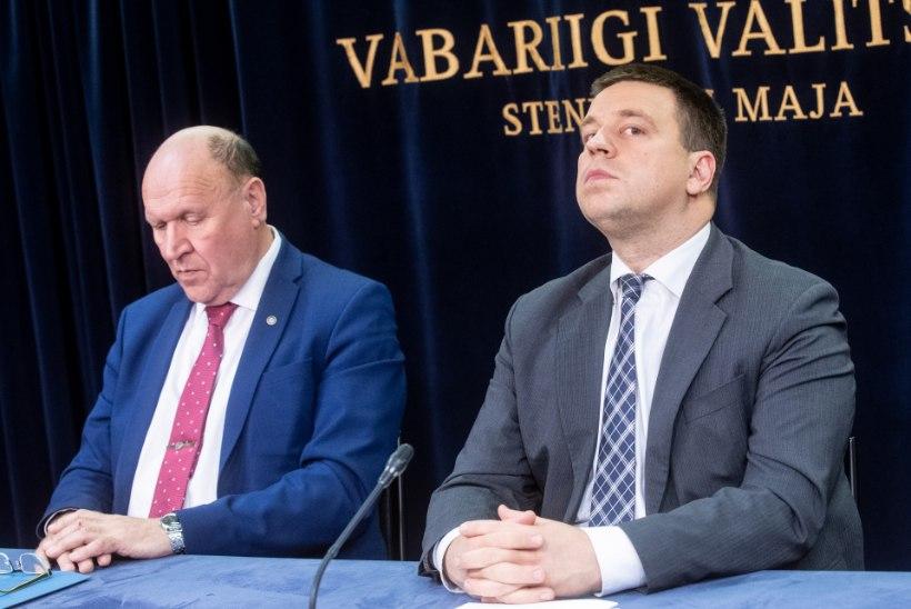 Kaalutletud Ratas ja bravuurikas Helme – milles jäid parteijuhid Järviku küsimuses eriarvamusele?