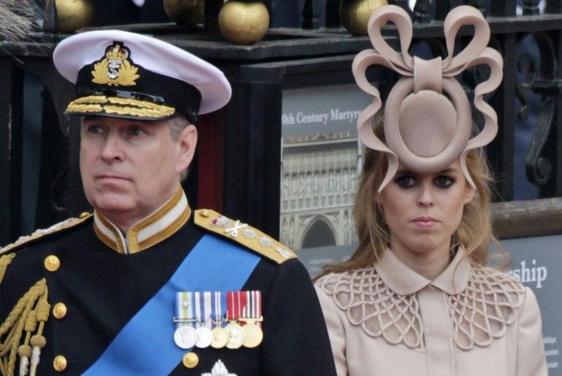 Tütar Beatrice peab prints Andrew' krahhi enda süüks