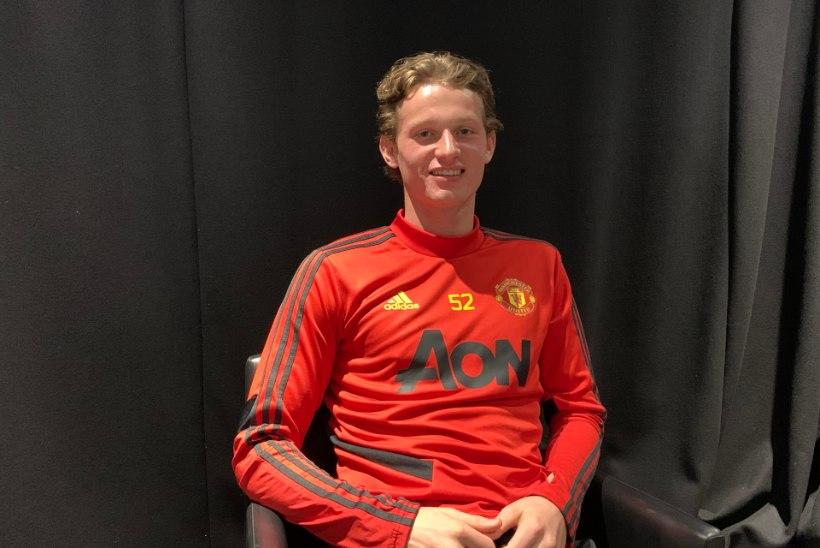 IMELINE! Veel aasta tagasi vähiga võidelnud vutitalent võib Manchester Unitedi eest platsile joosta