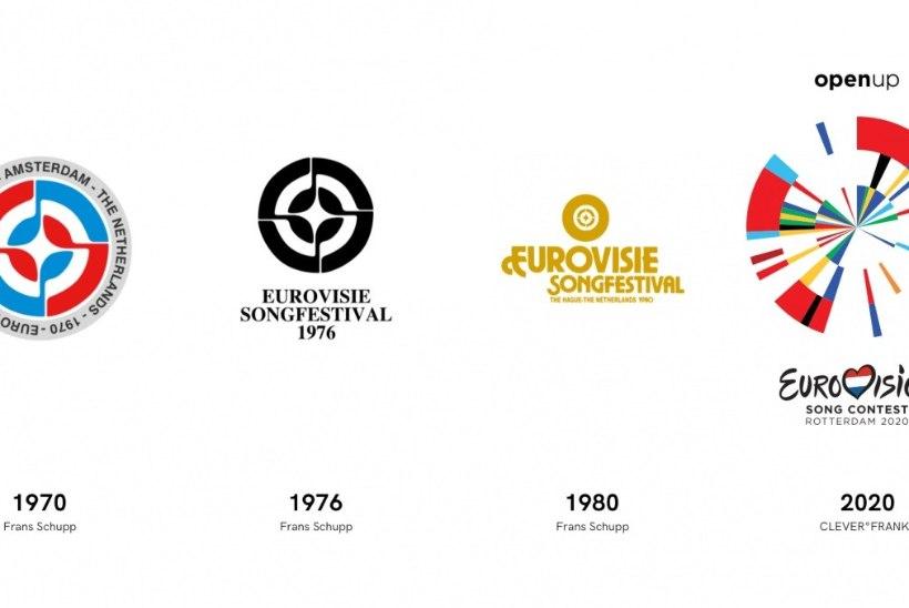 Eurovisioni logo ühendab endas kõigi osalevate riikide lipud