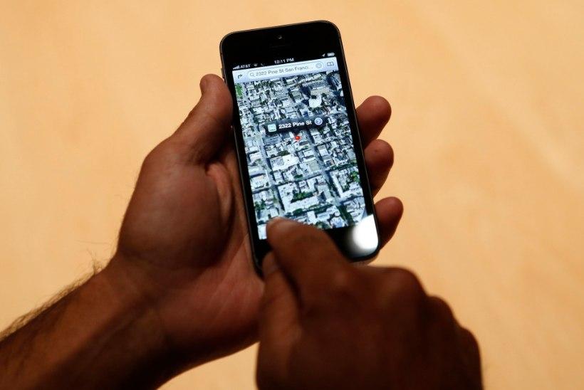 Venelased näevad Apple'i kaardirakenduses Krimmi Venemaa osana
