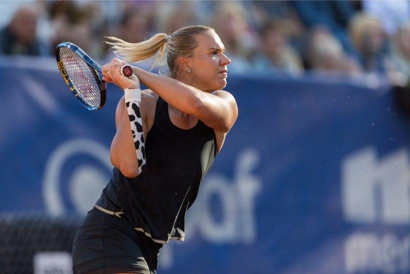 HEA TÖÖ! Eesmärgi täitnud Kaia Kanepi uuendas turniirivõiduga Eesti rekordit