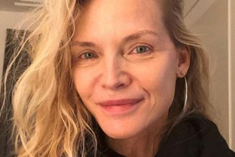 Michelle Pfeifferit ülistatakse meigivaba selfi eest