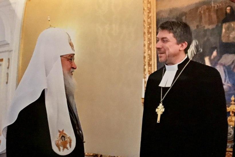 Peapiiskop Urmas Viilma kohtus Venemaa patriarh Kirilliga