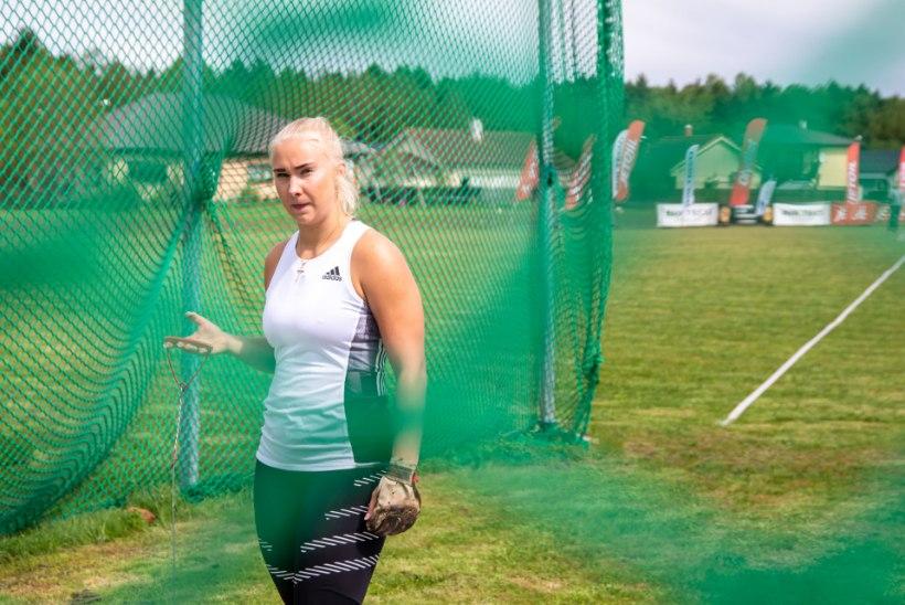 Eesti parim vasaraheitja Anna Maria Orel liitus Poola tipptiimiga
