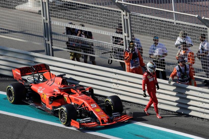VIDEO | OOTAMATU! Seina ramminud Vettel avas soomekeelsete roppuste laeka